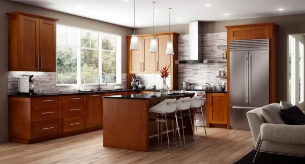 CNC Cabinetry Concord Elegant Nutmeg