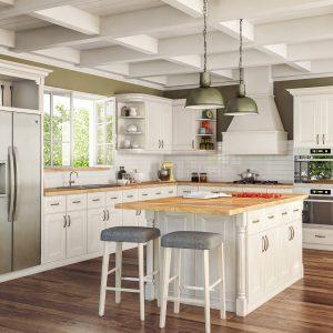 CNC Cabinetry Concord Alexandria Pearl Vanilla
