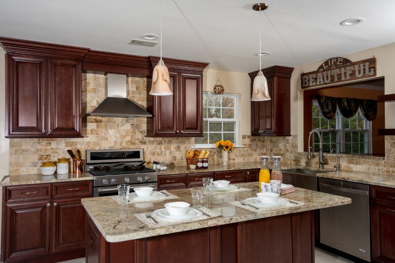 Fabuwood Classic Elite Merlot Kitchen Cabinets Tiles Nj Art