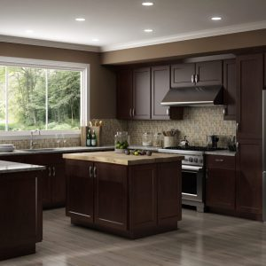 CNC Cabinetry Country Luxor Espresso