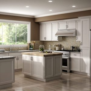 CNC Cabinetry Country Luxor White