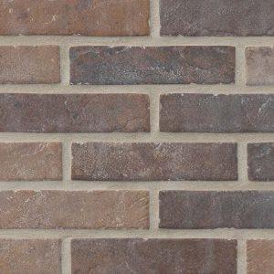 Brickstone Brickstone Red 2x10 Porcelain Tile