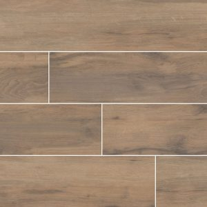 Botanica Cashew Porcelain Wood Look Tile