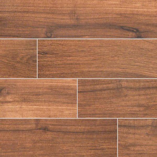 Chestnut Palmetto Porcelain Wood Tile Flooring