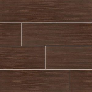 Chocolate Sygma Ceramic Wood Look Tile