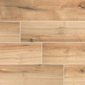 Palmetto Cognac Porcelain Wood Look Tile
