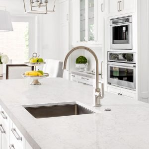 Lido Blanco Quartz Countertop Kitchen Cabinets Amp Tiles
