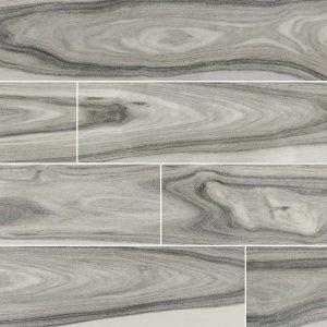 Moss Gray Dellano Porcelain Wood Look Tile