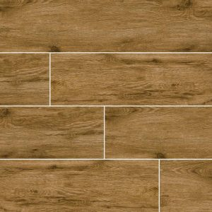 Nutmeg Celeste Ceramic Wood Look Tile