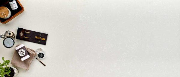 Shell White Quartz Countertop