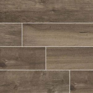 Palmetto Smoke Porcelain Wood Look Tile