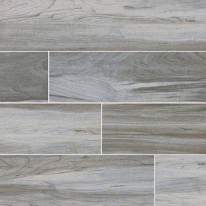 White Carolina Timber Ceramic Tile