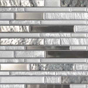 Adara Interlocking 8mm Glass Backsplash Tile