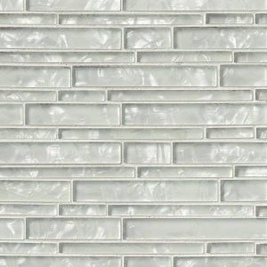 Akoya Interlocking Pattern 8mm Glass Backsplash Tile