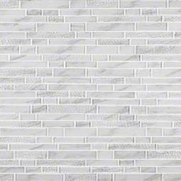 Calypso interlocking Pattern 8mm Glass Tile