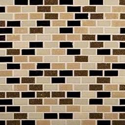 Desert Spring Mini Brick 6mm Glass Tile