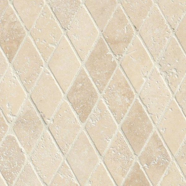 Durango Cream Rhomboids Backsplash Tile