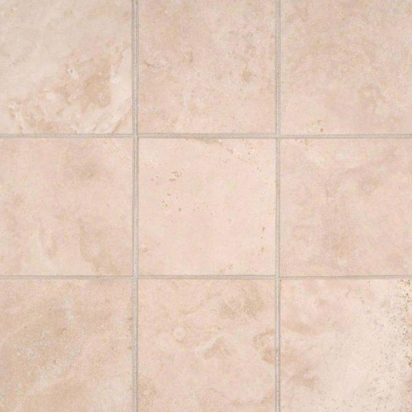 Durango Cream 4x4 Honed and Beveled Tile