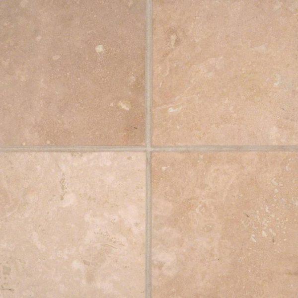 Durango Cream 6x6 Honed and Beveled Tile