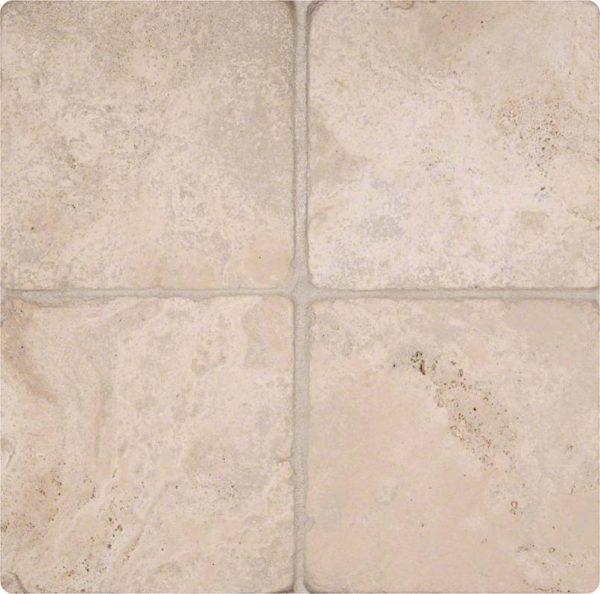 Durango Cream 6x6 Tumbled Tile