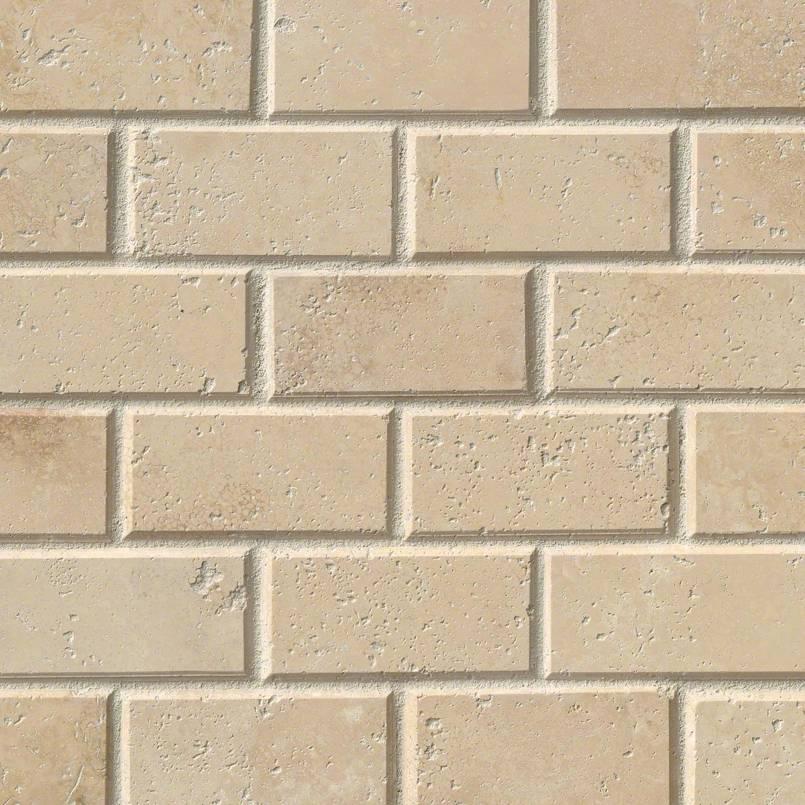 Durango Cream Subway Tile 2x4 Kitchen Cabinets Amp Tiles