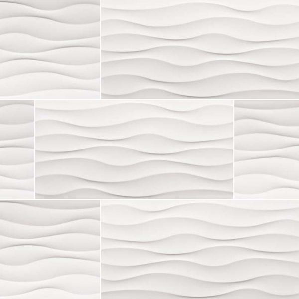 Dymo Wavy White 12X24 Glossy