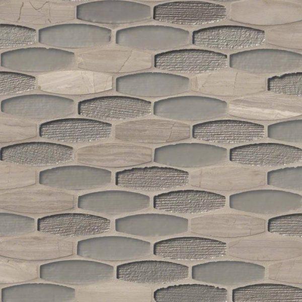 Ellipse Gris Backsplash Tile