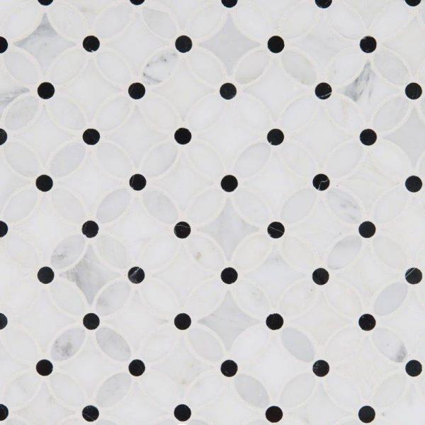 Florita Pattern Polished Backsplash Tile