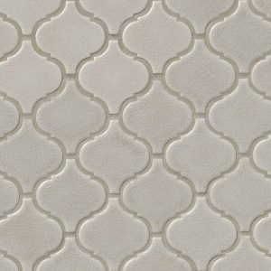 Fog Arabesque Backsplash Tile