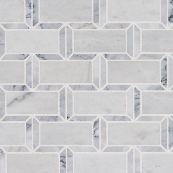Framework 2x4 Polished Subway Tile Backsplash