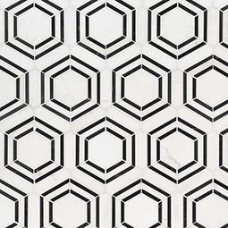 Georama Nero Polished  Glass Backsplash Tile