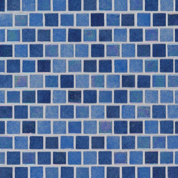 Hawaiian Sky 1x1x4mm Staggered  Glass Backsplash Tile