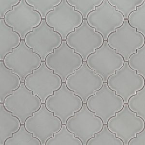 Morning Fog Arabesque Backsplash Tile