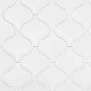 Retro Bianco Arabesque 6mm Matte