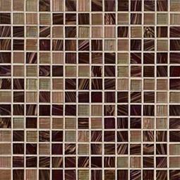Treasure Trail 3/4x3/4x4mm Iridescent Glass in 12x12 Mesh  Backsplash Tile
