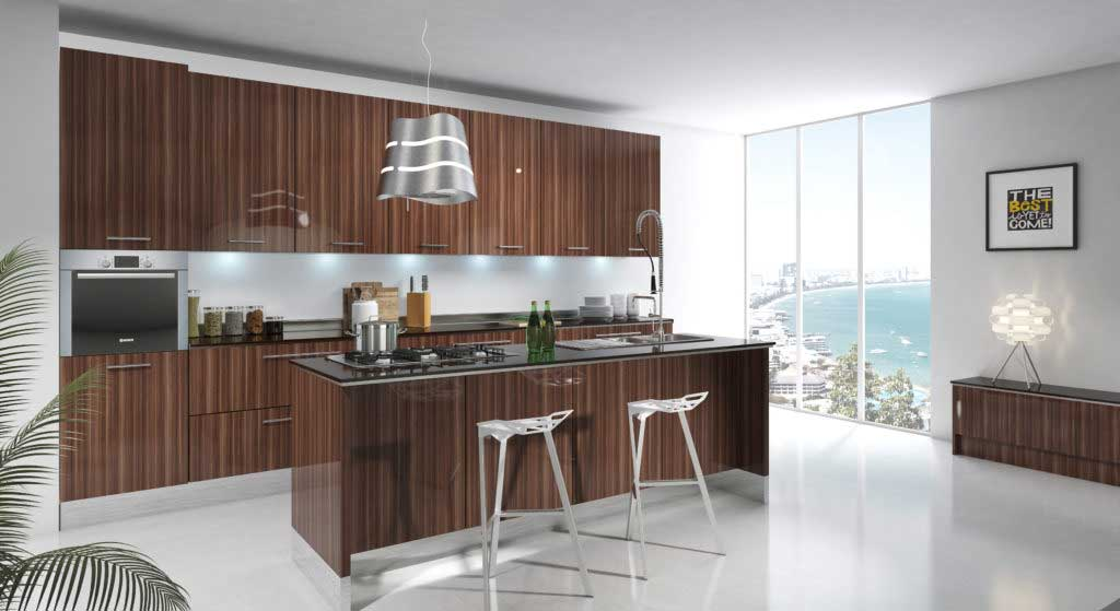 custom types of kitchen cabinets