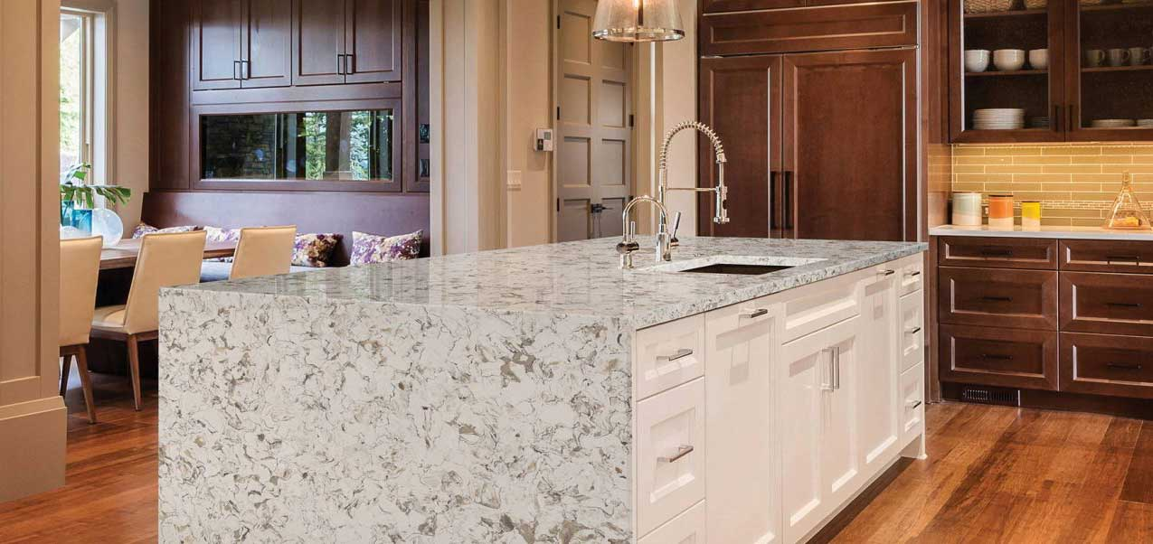 quartz countertop pros and cons, white quartz countertop