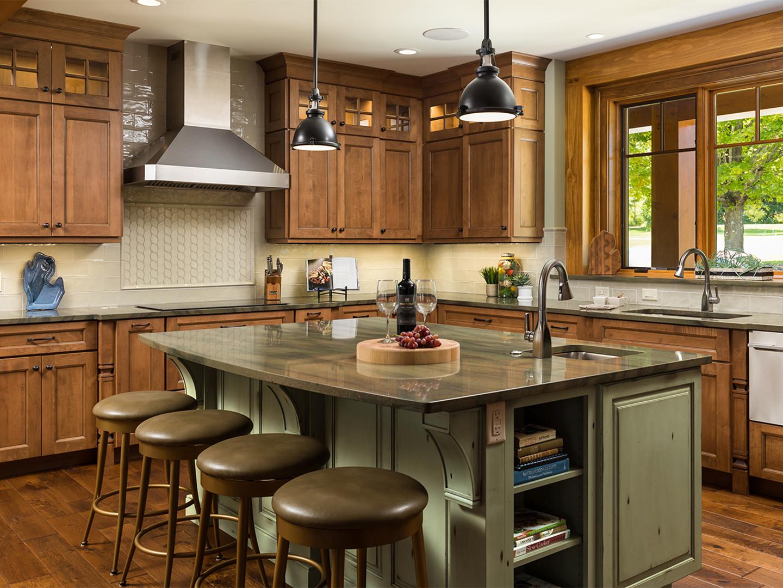 Cashmere on Maple Full Overlay using Aspen Door   Kitchen ...