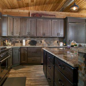 Silas on Rustic Hickory Standard Overlay using Heritage Door